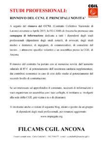 Ancona - campagna informazione